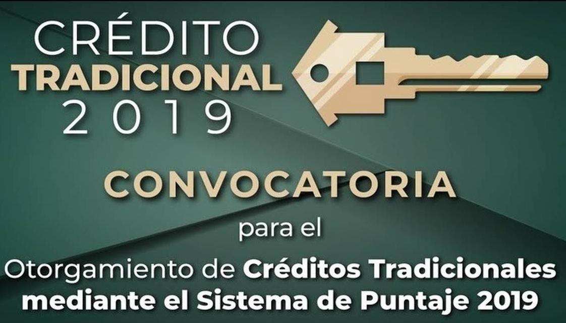 CRÉDITO FOVISSSTE   CONVOCATORIA 2019.